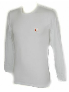 T-shirt maglia giro uomo TRUSSARDI JEANS a. TR0029 taglia XL col. 00010 BIANCO