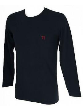 T-shirt maglia giro uomo TRUSSARDI JEANS art.TR0029 taglia M col.117 MARINO