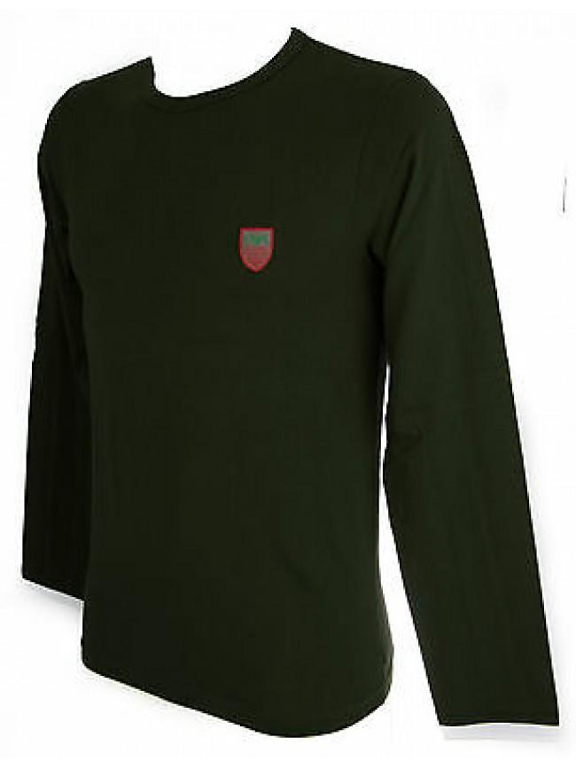 T-shirt maglia uomo EMPORIO ARMANI a.111287 5A510 taglia S col.04985 MOSS
