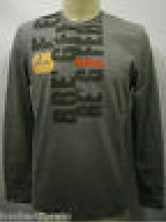 T-shirt maglia uomo sweater man GF FERRE a.5F2766 T.M c.821 grigio grey Italy