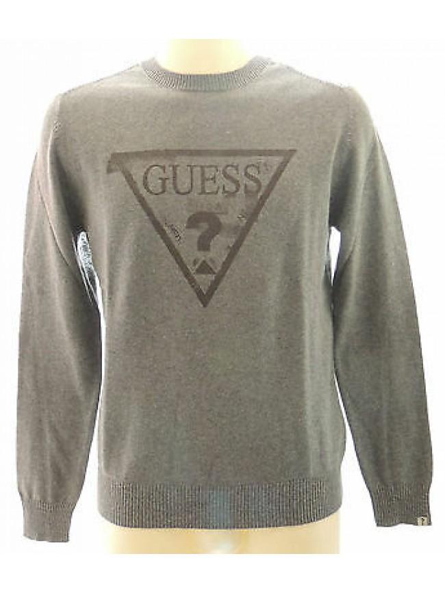 T-shirt maglia uomo sweater man GUESS art.M34R04 Z0AO0 T.XL col.M92 grigio grey