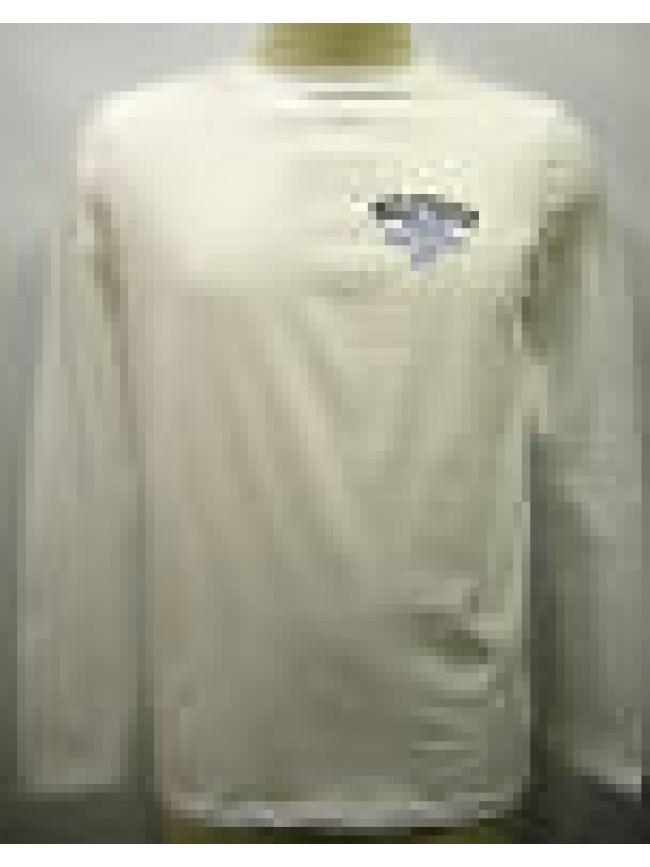 T-shirt maglia uomo sweater man Tommy Hilfilger 2S87901509 T.L 100 bianco white