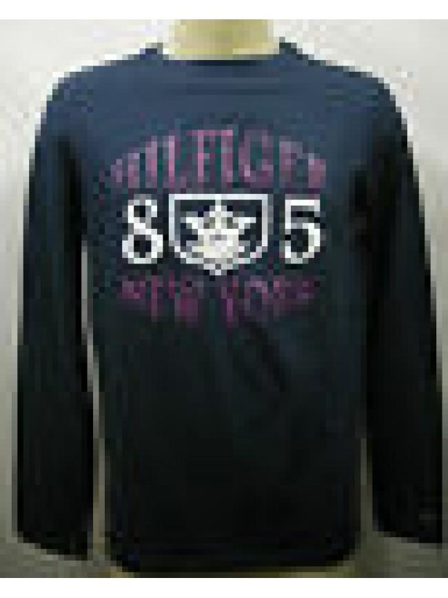 T-shirt maglia uomo sweater man Tommy Hilfilger 2S87901530 T.S c.498 blu blue
