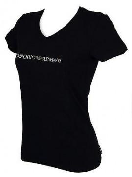 T-shirt maglietta V donna EMPORIO ARMANI 163321 6P263 taglia XS c. 00135 MARINE