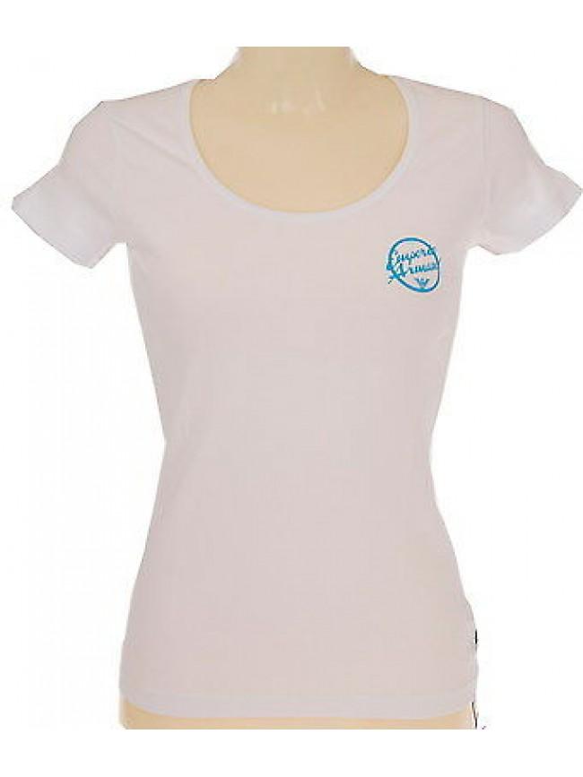 T-shirt maglietta donna EMPORIO ARMANI 261839 4P368 T.XS c.00010 BIANCO