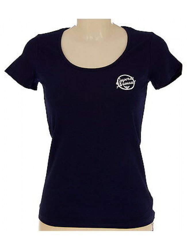 T-shirt maglietta donna EMPORIO ARMANI 261839 4P368 T.XS c.00035 NAVY