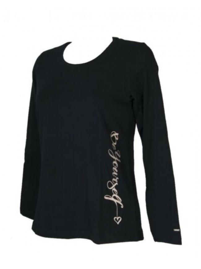 T-shirt maglietta donna FUORI CLASSE BY FLLI CAMPAGNOLO manica lunga maglia coto