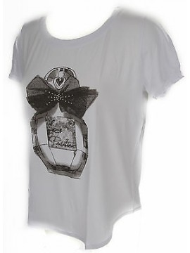 T-shirt maglietta donna RAGNO art.702577 taglia 3/S colore 010F FANT BIANCO