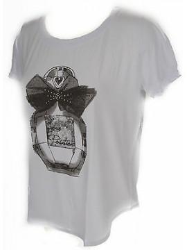 T-shirt maglietta donna RAGNO art.702577 taglia 4/M colore 010F FANT BIANCO