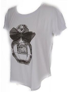 T-shirt maglietta donna RAGNO art.702577 taglia 5/L colore 010F FANT BIANCO