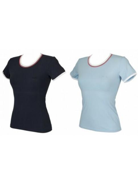 T-shirt maglietta donna manica corta girocollo cotone D&G DOLCE & GABBANA artico