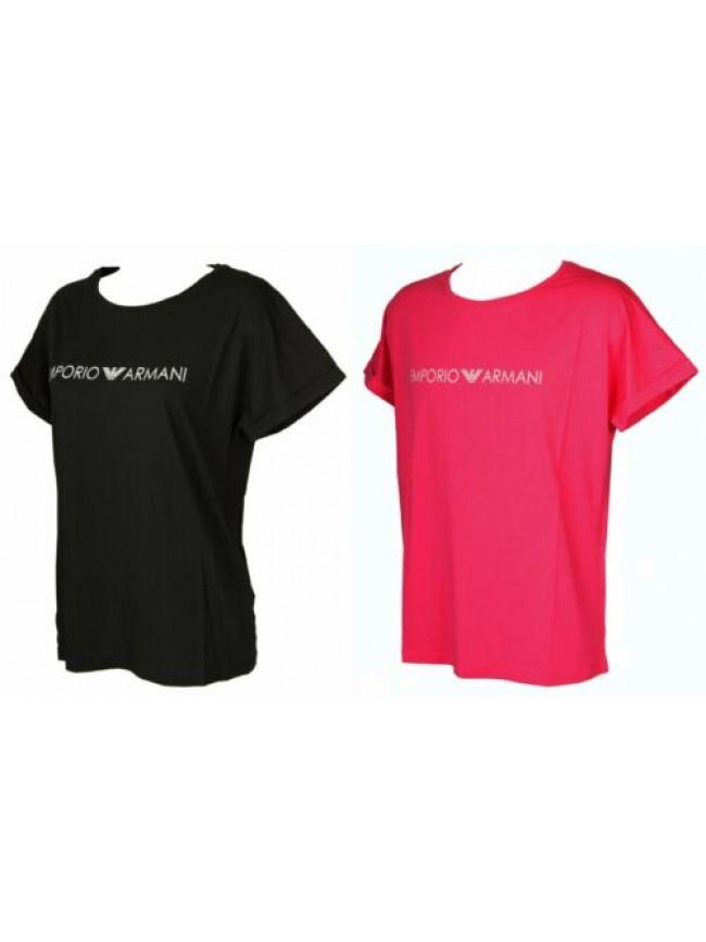 T-shirt maglietta donna manica corta girocollo cotone EMPORIO ARMANI articolo 26