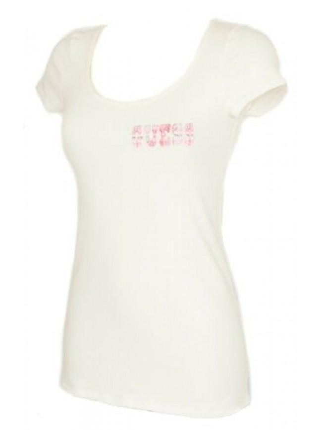 T-shirt maglietta donna manica corta girocollo cotone strech GUESS articolo UD2M