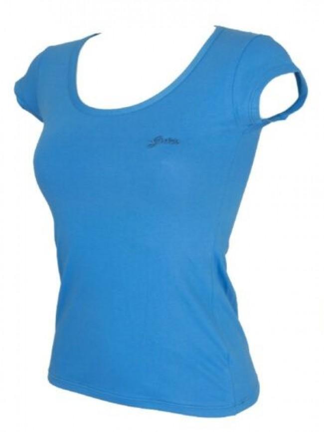 T-shirt maglietta donna manica corta girocollo cotone strech GUESS articolo UO2G