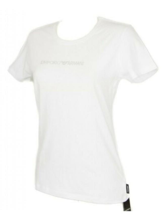 T-shirt maglietta donna manica corta girocollo cotone stretch EMPORIO ARMANI art