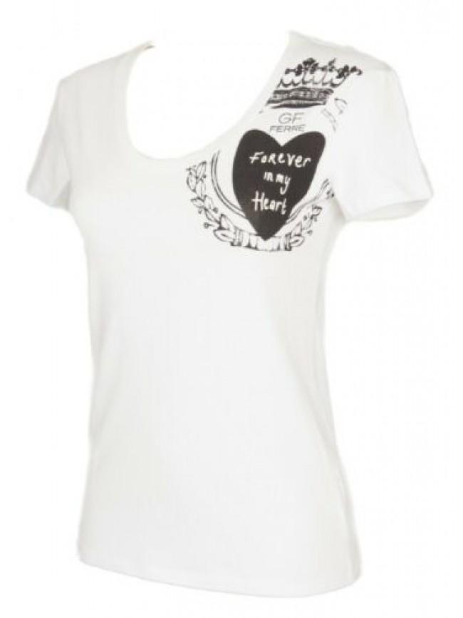 T-shirt maglietta donna manica corta girocollo modal GF FERRE' articolo 4F7770 m