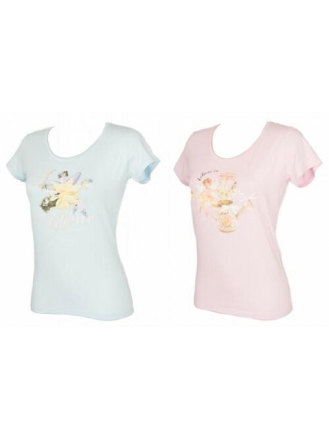 T-shirt maglietta donna manica corta girocollo viscosa RAGNO articolo 070417