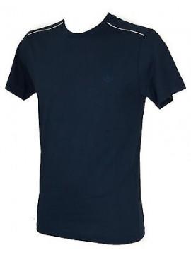 T-shirt maglietta giro uomo TRU TRUSSARDI art. NT672C taglia L col. 117 MARINO