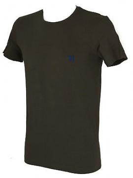 T-shirt maglietta giro uomo TRUSSARDI JEANS art. TR0027 taglia L col. 732 ARMY