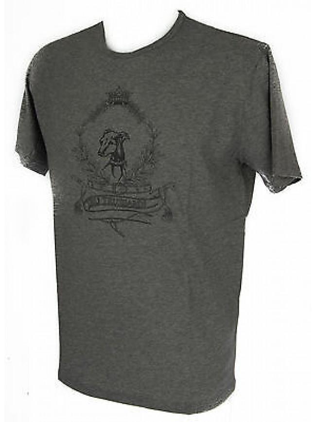T-shirt maglietta giro uomo TRUSSARDI art.NT602J taglia M col.135M GRIGIO GREY