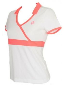 T-shirt maglietta manica corta donna tennis sport LOTTO articolo Q2385 TS NOA
