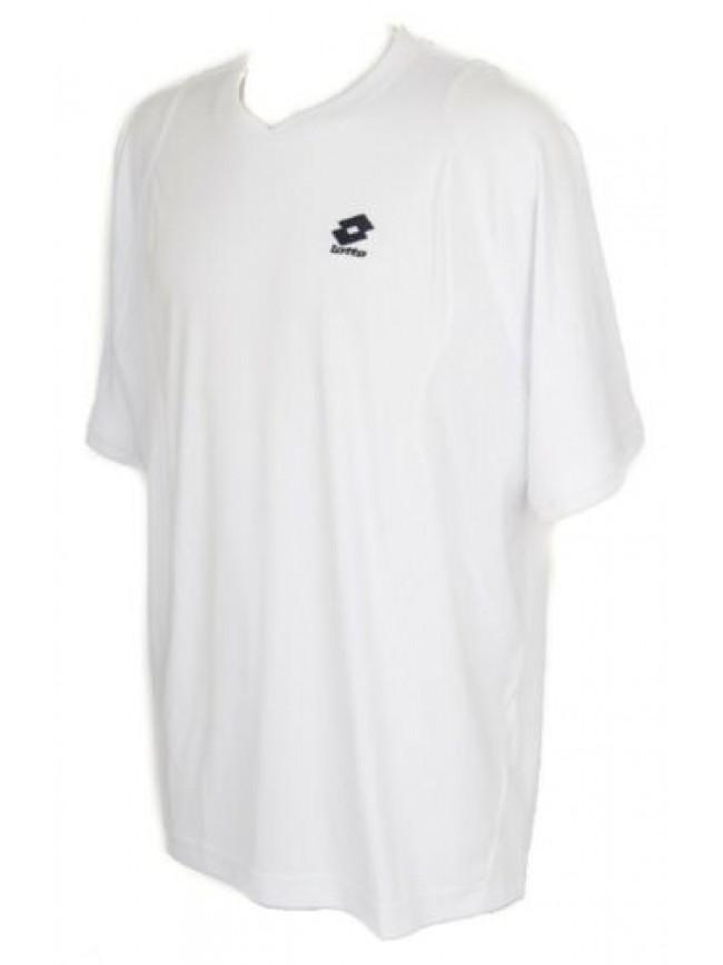 T-shirt maglietta manica corta uomo tennis sport LOTTO articolo H6629 T-SHIRT UN