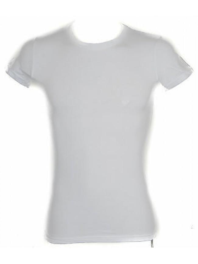 T-shirt maglietta uomo EMPORIO ARMANI 111035 5P717 taglia XL 00010 BIANCO