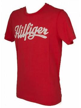 T-shirt maglietta uomo TOMMY HILFIGER a. 2S87905125 taglia S c. 218 BITTERSWEET
