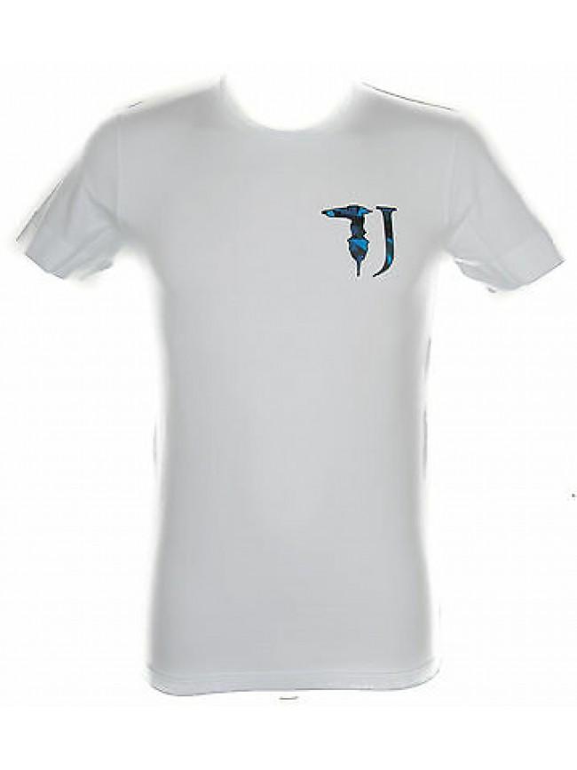 T-shirt maglietta uomo TRUSSARDI JEANS art.TR0017 taglia M colore 010 BIANCO