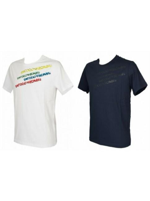 T-shirt maglietta uomo girocollo manica corta cotone EMPORIO ARMANI articolo 211