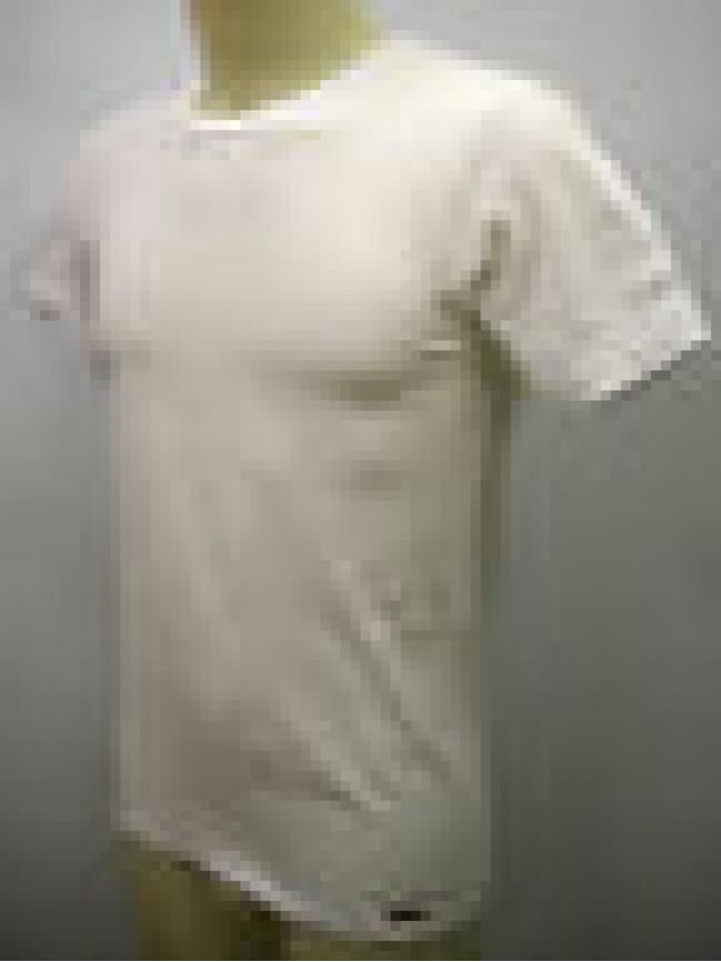 T-shirt maglietta uomo man KONTAKT RAGNO SPORT 063577 taglia 4 C.010K BIANCO