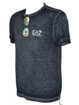 T-shirt manica corta maglietta uomo girocollo EA7 EMPORIO ARMANI articolo 3ZPT29