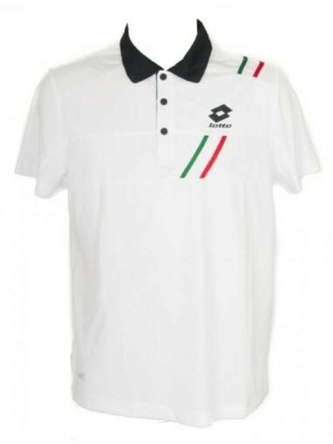T-shirt polo maglietta manica corta uomo tennis sport LOTTO articolo Q2325 POLO