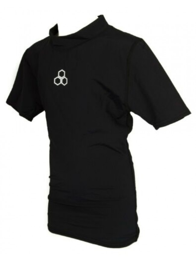 T-shirt ragazzo junior manica corta maglia sport che mantiene il corpo asciutto