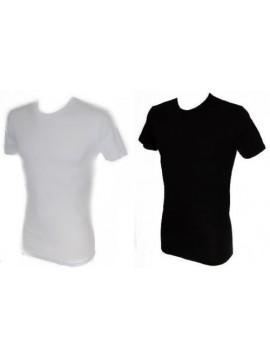 T-shirt uomo caldo cotone manica corta girocollo RAGNO articolo 602957 NATURAL M