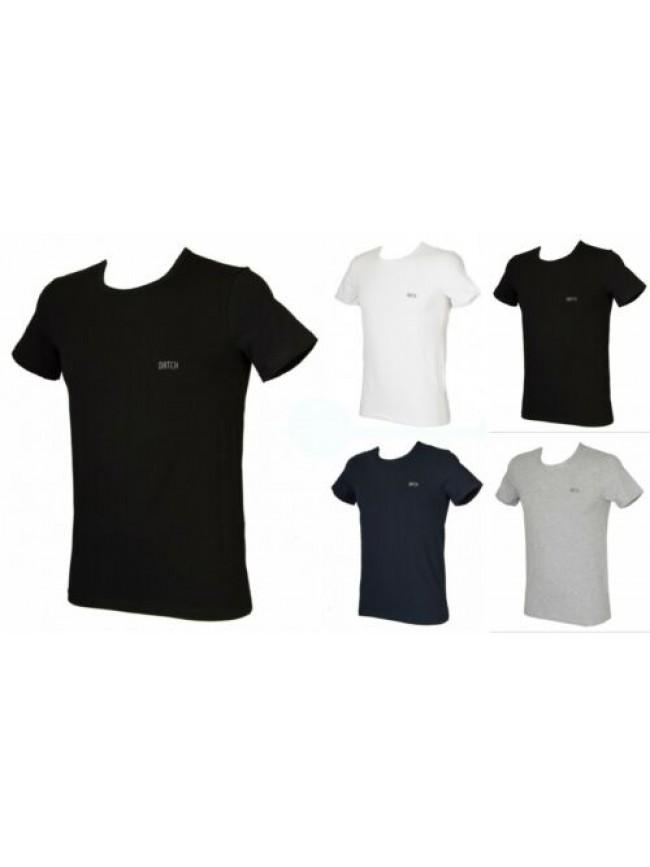 T-shirt uomo girocollo maglietta manica corta DATCH articolo IU0004