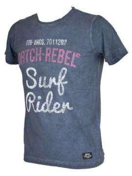 T-shirt uomo girocollo manica corta DATCH articolo BU0056 STAMPA RIDER