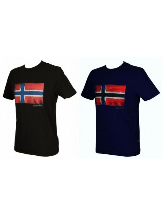 T-shirt uomo maglietta manica corta girocollo NAPAPIJRI articolo N0YIX2 SIBU