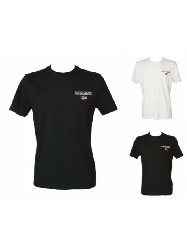 T-shirt uomo maglietta manica corta girocollo NAPAPIJRI articolo NP0A4EHZ S - IC