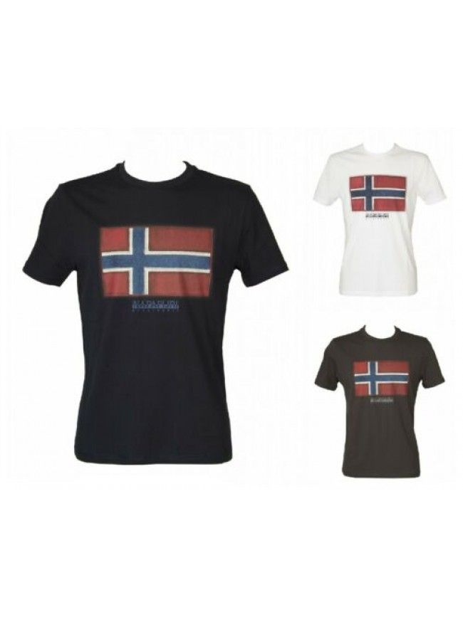 T-shirt uomo maglietta manica corta girocollo NAPAPIJRI articolo NP0A4F9R SIROL