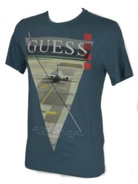 T-shirt uomo manica corta girocollo GUESS articolo M62I24 I3Z00