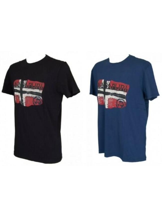 T-shirt uomo manica corta girocollo NAPAPIJRI articolo N0YG7B SALENY