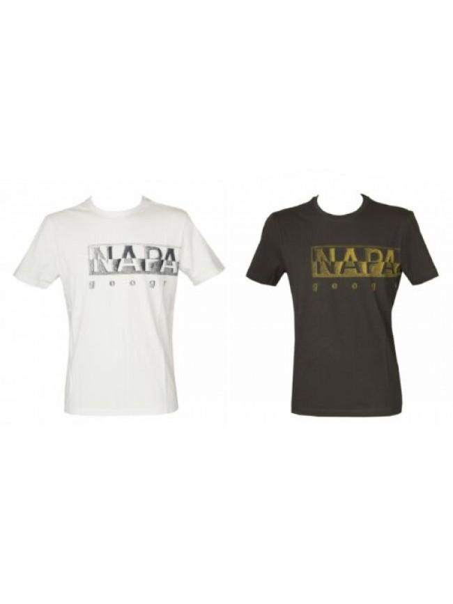 T-shirt uomo manica corta maglietta girocollo cotone NAPAPIJRI articolo NP0A4F9N