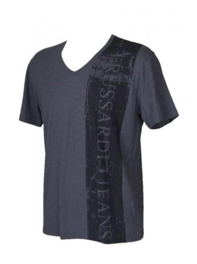T-shirt uomo manica corta scollo V TRUSSARDI JEANS articolo TR0038