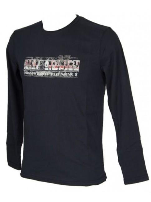 T-shirt uomo manica lunga girocollo NAPAPIJRI articolo N0YFSE SAARO LS