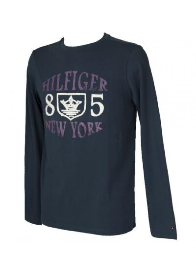 T-shirt uomo manica lunga girocollo maglia cotone TOMMY HILFIGER articolo 2S8790