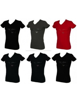 T-shirt uomo scollo V manica corta EMPORIO ARMANI articolo 110810 6A516