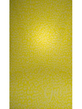 Telo mare beach towel GUESS art. E62Z65 cm. 180x100 col. G204 POP YELLOW GIALLO