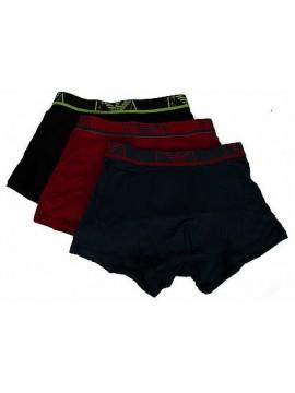 Tripack 3 boxer trunk EMPORIO ARMANI 111583 6P712 taglia S colore 38520 NE AV R