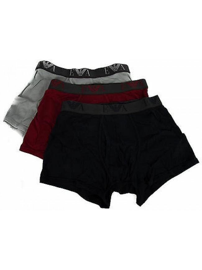 Tripack 3 boxer trunk EMPORIO ARMANI art. 111867 5A712 taglia M colore 18074